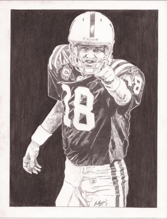 Peyton Manning par Sasquatch39